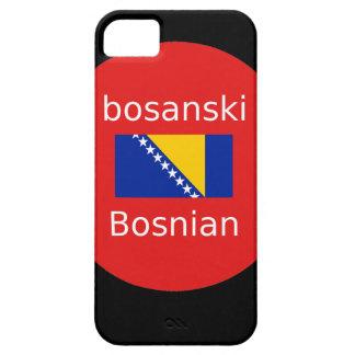 Bosnian Language Design iPhone 5 Case