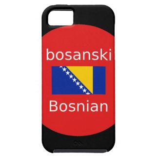 Bosnian Language Design Tough iPhone 5 Case
