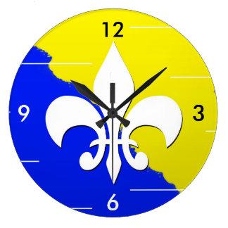 Bosnian Lilly Clock (Ljiljan)