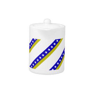 Bosnian stripes flag