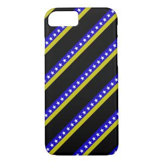 Bosnian stripes flag iPhone 8/7 case