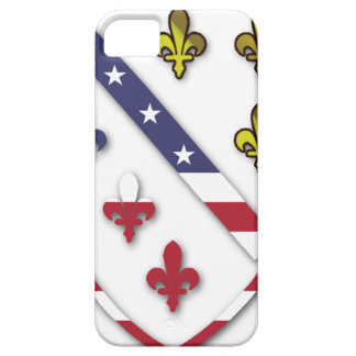 BosnianAmerican Clear Custom Flag Design Logo Case For The iPhone 5