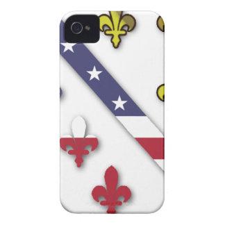 BosnianAmerican Clear Custom Flag Design Logo Case-Mate iPhone 4 Case