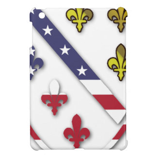 BosnianAmerican Clear Custom Flag Design Logo iPad Mini Case