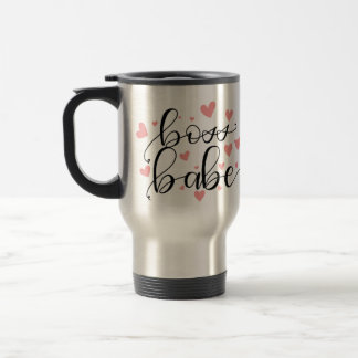 Boss Babe Travel Mug