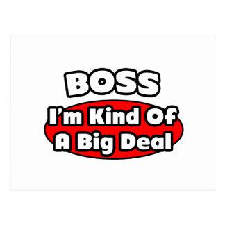 Boss...Big Deal Postcards
