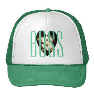 Boss Bling Money Symbol Heart Trucker Hat