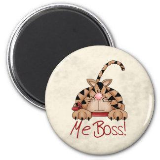 Boss Cat 6 Cm Round Magnet