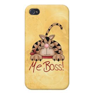 Boss Cat iPhone 4 Cases