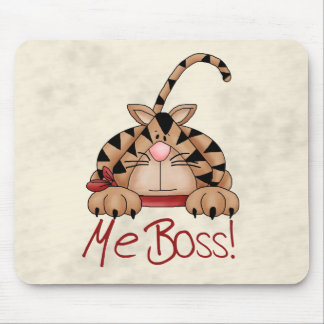 Boss Cat Mouse Pad