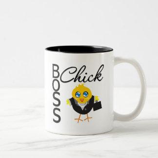 Boss Chick Two-Tone Mug