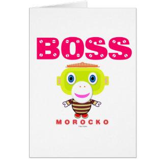 Boss-Cute Monkey-Morocko Card