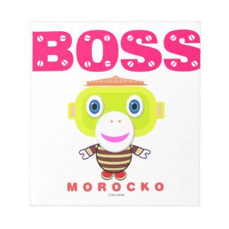 Boss-Cute Monkey-Morocko Notepad