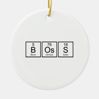 Boss Elements Ceramic Ornament