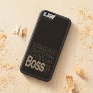 Boss Extraordinaire Maple iPhone 6 Bumper Case