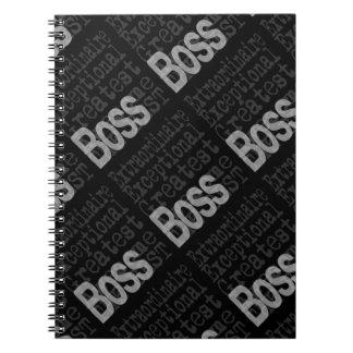 Boss Extraordinaire Note Books