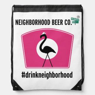 Boss Flamingo, Drawstring Bag