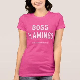 Boss Flamingo Pink T-Shirt