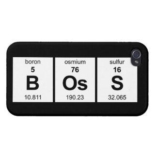 BOsS iPhone 4/4S Cases