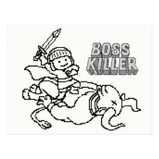 Boss killer Minotaurus Postcard