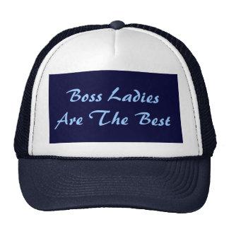 Boss Ladies Are The Best Trucker Hat Hat