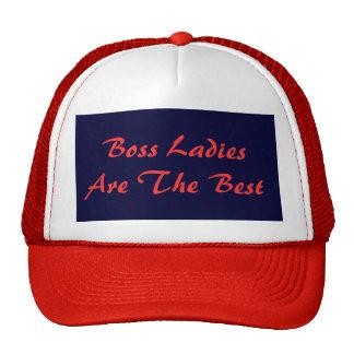 Boss Ladies Are The Best Trucker Hat