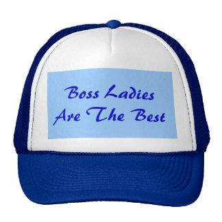 Boss Ladies Are The Best Trucker Hat Mesh Hats