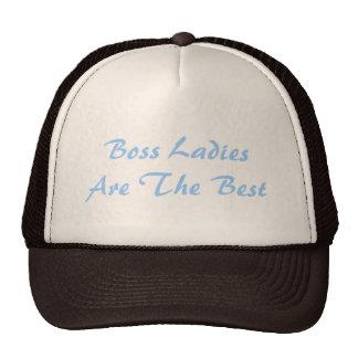 Boss Ladies Are The Best Trucker Hat Hats