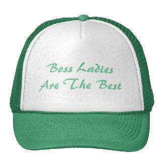 Boss Ladies Are The Best Trucker Hat Trucker Hat