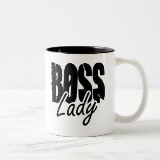Boss Lady $17.95 Two Toned Coffee Mug