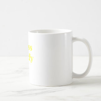 Boss Lady Basic White Mug