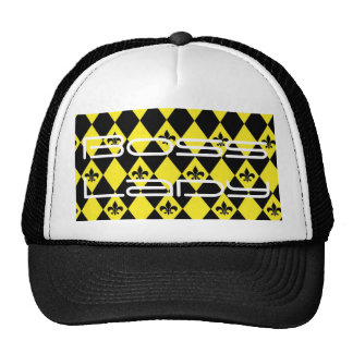 Boss Lady Black and Yellow Trucker Hat