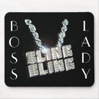 Boss Lady Bling Bling Mousepad