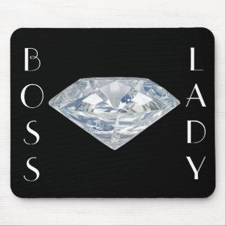 Boss Lady Diamond Mousepad