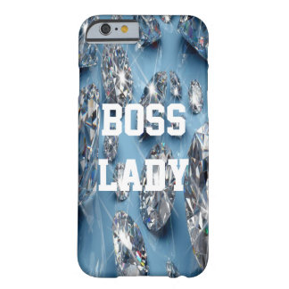 Boss Lady Diamonds Barely There iPhone 6 Case