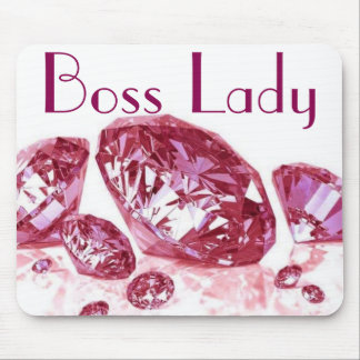 Boss Lady Diamonds Mousepad Mouse Pad