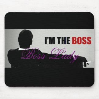 Boss Lady I'm The Boss Mousepad Mouse Pad