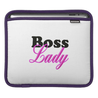 Boss Lady iPad Sleeve