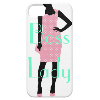 Boss Lady iPhone 5/5S, Barely There Case iPhone 5 Cases
