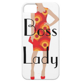 Boss Lady iPhone 5/5S, Barely There Case iPhone 5 Case