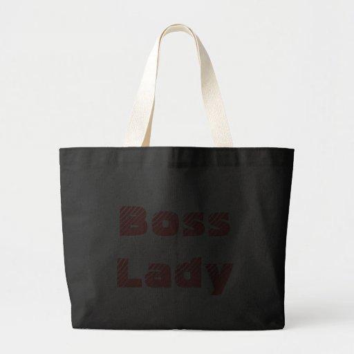 Boss Lady Jumbo Tote Bags