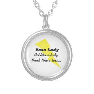 Boss Lady Lightning Necklace