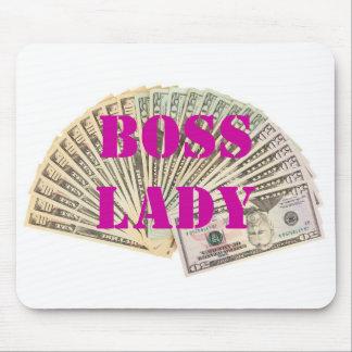 Boss Lady Money Mousepad