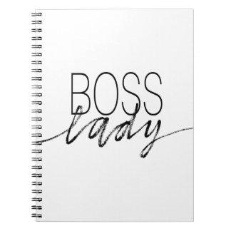 Boss Lady Note Book