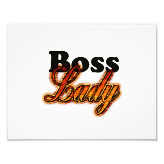 Boss Lady Photo Print