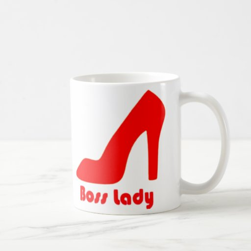 Boss Lady Red Pump Mug
