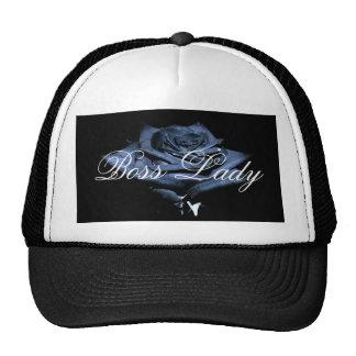 Boss Lady Rose Trucker Hat
