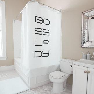 Boss Lady Shower Curtain