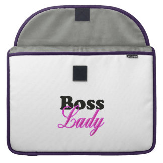 Boss Lady Sleeve For MacBooks
