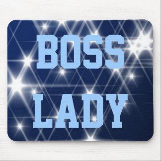 Boss Lady Sparkle Mousepad
